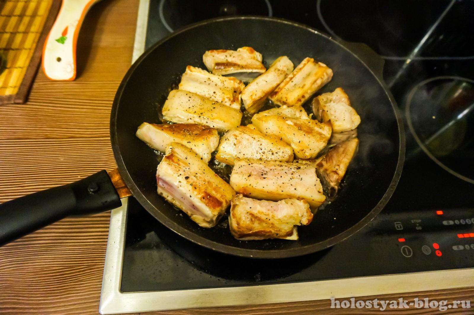 рецепт ребрышки с картошкой