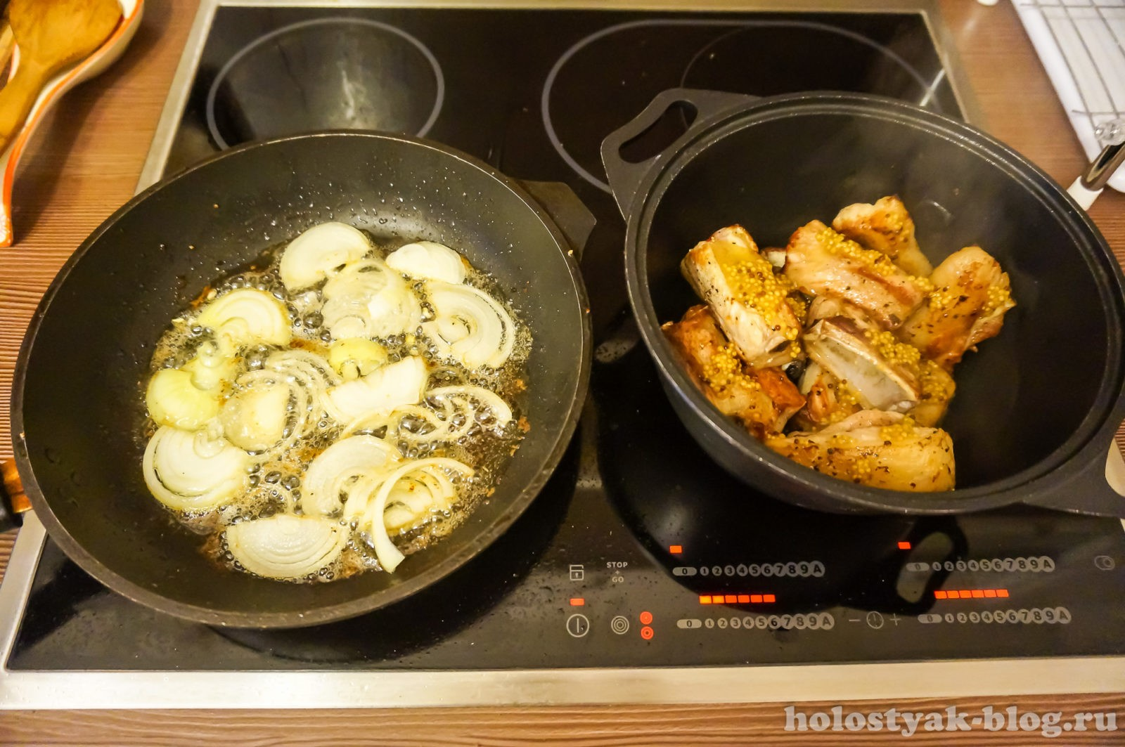 фото ребрышки с картошкой