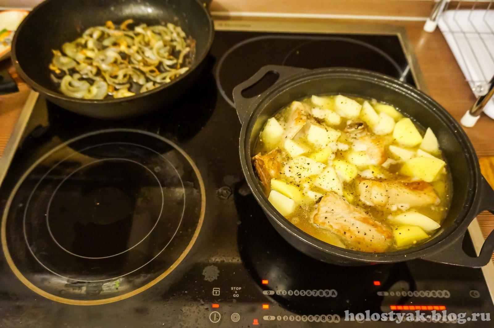 ребрышки свиные с картошкой фото
