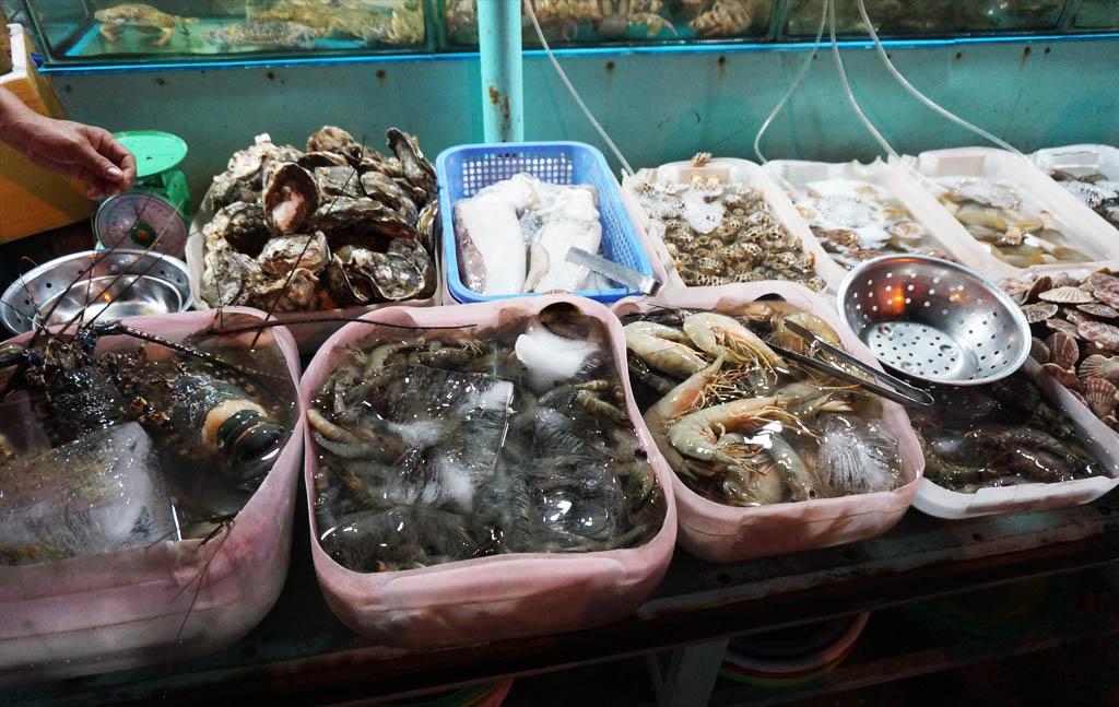 вьетнам креветки лобстеры