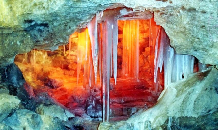 грот кунгурская пещера