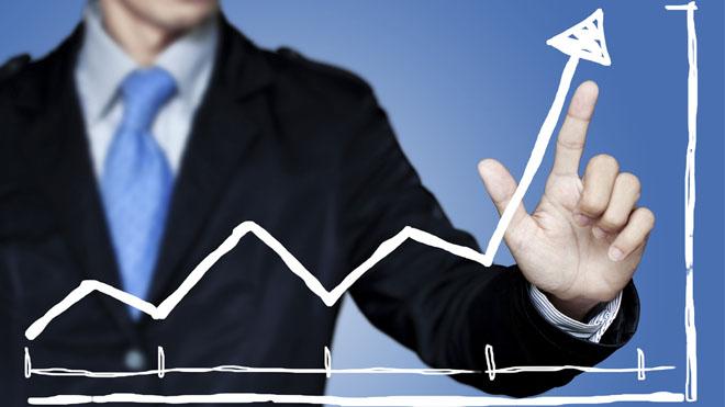 рост бизнеса диаграмма